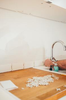 tiling work in the Hamilton NZ home